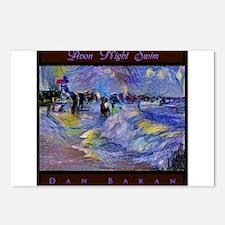 Avon Night Swim Postcards (Package of 8)