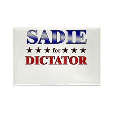 SADIE for dictator Rectangle Magnet