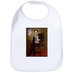 Lincoln/French Bulldog Bib