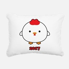 Year of the Rooster 2017 Rectangular Canvas Pillow