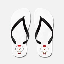 Year Of The Rooster 2017 Flip Flops
