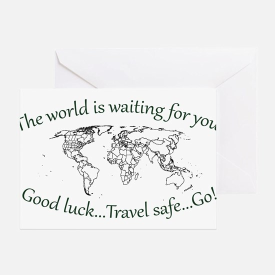 The World Is Waiting Greeting Card