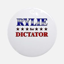 RYLIE for dictator Ornament (Round)