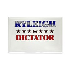 RYLEIGH for dictator Rectangle Magnet