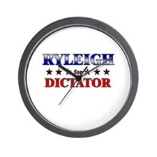 RYLEIGH for dictator Wall Clock
