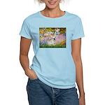 Garden / Fr Bulldog(f) Women's Light T-Shirt