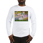 Garden / Fr Bulldog(f) Long Sleeve T-Shirt