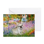 Garden / Fr Bulldog(f) Greeting Cards (Pk of 10)