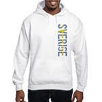 Sverige Stamp Hooded Sweatshirt