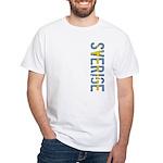 Sverige Stamp White T-Shirt