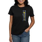 Sverige Stamp Women's Dark T-Shirt