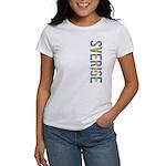 Sverige Stamp Women's T-Shirt