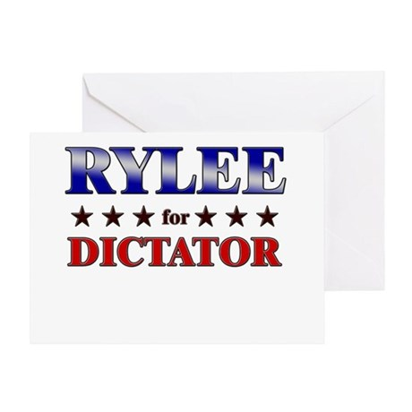 RYLEE for dictator Greeting Card
