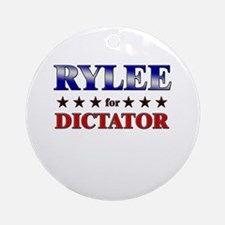 RYLEE for dictator Ornament (Round)