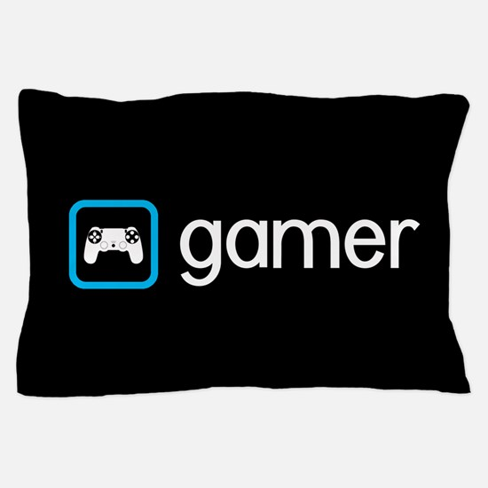 Gamer (Blue) Pillow Case