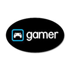Gamer (Blue) Wall Sticker