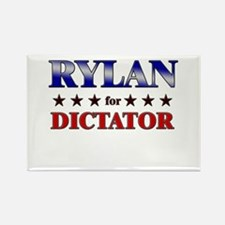 RYLAN for dictator Rectangle Magnet