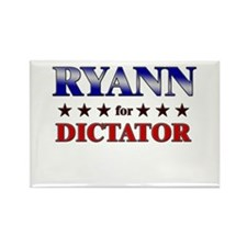RYANN for dictator Rectangle Magnet