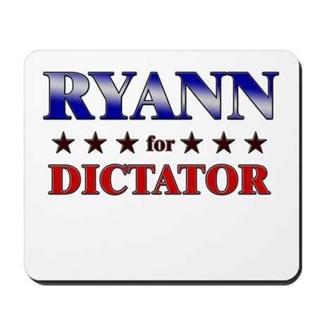 RYANN for dictator Mousepad