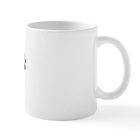 Gizmo Paw Prints Mug