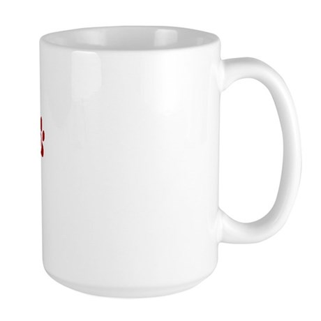 Gizmo Paw Prints Large Mug