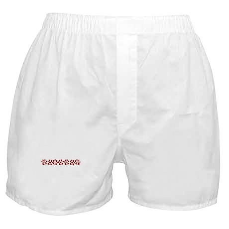 Hershey Paw Prints Boxer Shorts