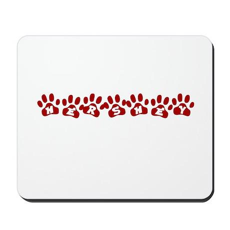 Hershey Paw Prints Mousepad