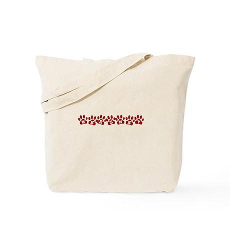 Hershey Paw Prints Tote Bag
