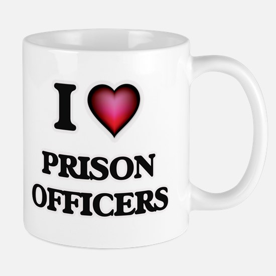 I love Prison Officers Mugs