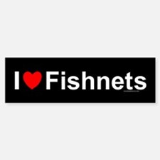 Fishnets Bumper Bumper Sticker