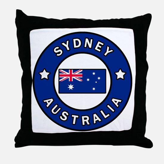 Cute New south wales Throw Pillow