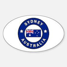 Cute Aussie pride Sticker (Oval)