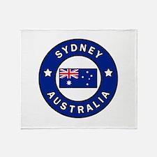 Sydney Australia Throw Blanket