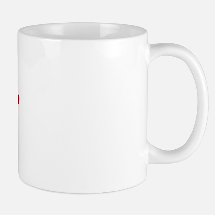 Roxy Paw Prints Mug
