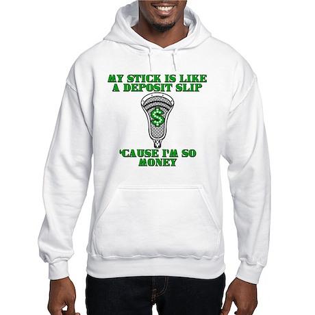 Lacrosse Money Hooded Sweatshirt