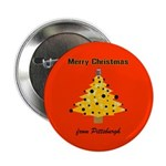 "Pgh Xmas 2.25"" Button (100 pack)"