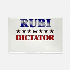RUBI for dictator Rectangle Magnet
