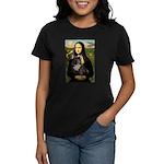 Mona / Fr Bulldog(brin) Women's Dark T-Shirt