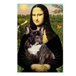Mona / Fr Bulldog(brin) Postcards (Package of 8)