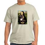 Mona / Fr Bulldog(brin) Light T-Shirt