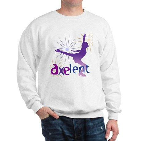 Ice Skating is Axelent Sweatshirt