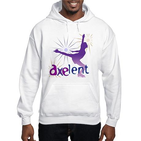 Ice Skating is Axelent Hooded Sweatshirt