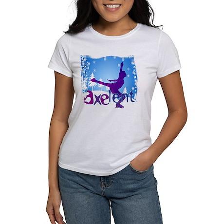 Ice Skating is Axelent Women's T-Shirt