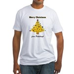 Pgh Xmas Fitted T-Shirt