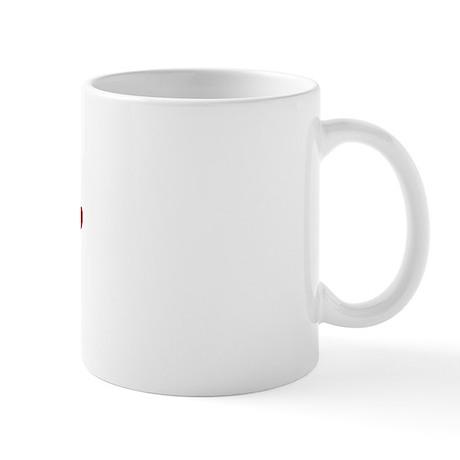 Taz Paw Prints Mug