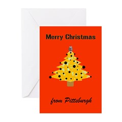 Pgh Xmas Greeting Cards (Pk of 20)