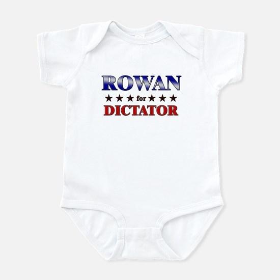 ROWAN for dictator Infant Bodysuit