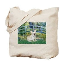 Bridge / Fr Bulldog (f) Tote Bag