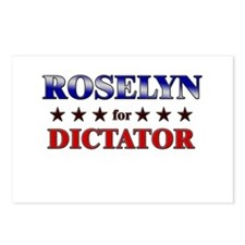ROSELYN for dictator Postcards (Package of 8)