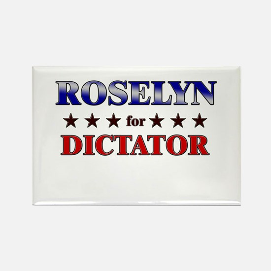 ROSELYN for dictator Rectangle Magnet